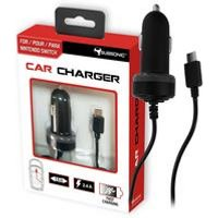Subsonic 1.5m Nintendo Switch Car Charger