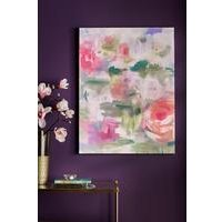 Abstract Blossoms Canvas