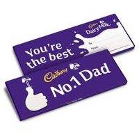 Cadburys No1 Dad Dairy Milk Bar