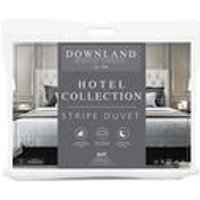 Microfibre Hotel Striped Collection 4.5 Tog Duvet