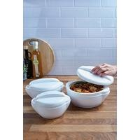 Set Of 3 Insulated Bowls