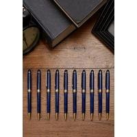 Pack of 10 Classic Marble Ball Pen