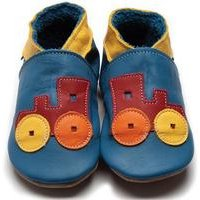 Hippychick Baby Boy Shoes Train 0-6 Months