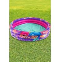 Shimmer and Shine 3 Ring Inflatable Pool