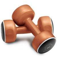 Bronze 2 Kg Smart Dumbbell Set - Set of 2