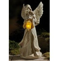 Angel With Solar Light