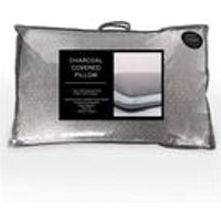Cascade Charcoal Covered pillow