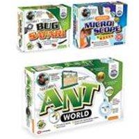 My Living World Ant World, Bug Safari, Pocket Microscope