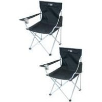 Set Of 2 Essential Camping Chairs