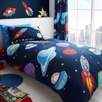 Outer Space Duvet Set