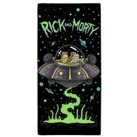Rick and Morty UFO Spaceship Towel