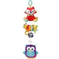Fisher Price Woodland Fox, Activity Spiral, Baby on Board