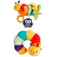 Fisher Price Woodland Activity Spiral, Caterpillar Neck Support