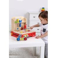Tooky Toys Wooden Foldable Workbench