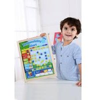Tooky Toys Wooden Responsibility Chart