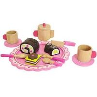 Tooky Toys Wooden Afternoon Tea Set