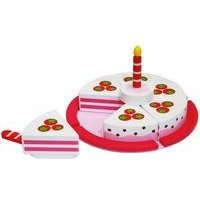 Tooky Toys Wooden Birthday Cake