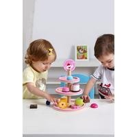 Tooky Toys Wooden Dessert Stand