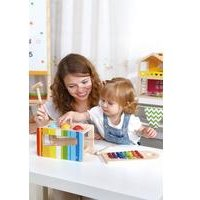 Tooky Toys Wooden Pound and Tap Bench
