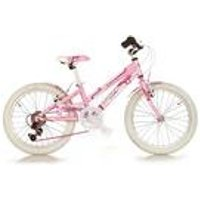 Kids Pink 20 Inch Bike