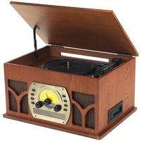Intempo Vintage Music Centre with Bluetooth