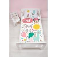 Minnie Mouse Friends Junior Panel Duvet Set