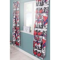 Ultimate Spiderman Metropolis Curtains 54 Inch Drop