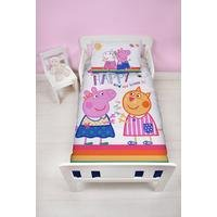 Peppa Pig Hooray Panel Duvet Set