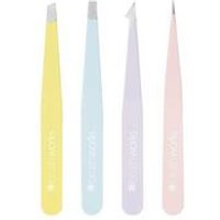 Brush Works Combination Purple Tweezer Set
