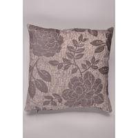 Broadway Floral Grey Filled Cushion