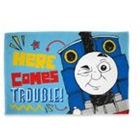 Thomas and Friends Sketchbook Panel Polar Fleece Blanket