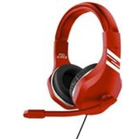 Red Subsonic Pro League Game and Chat Headset