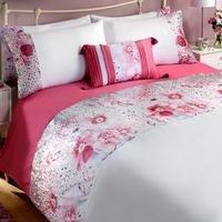 Floral Sequin Duvet Set