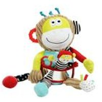 Dolce Play and Learn Monkey Soft Toy