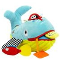 Dolce Play and Learn Soft Toy Whale