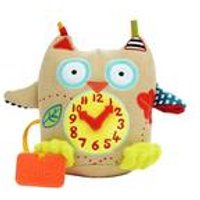 Dolce My First Clock Soft Toy.