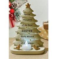 Memorial Sister Christmas Tree