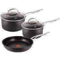 Tefal Jamie Oliver Premium 3-Piece Pan set