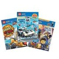 Lego City Book Bundle