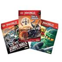 Lego Ninjago Book Bundle