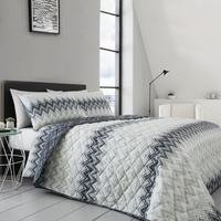 Chevron Quilted Throw