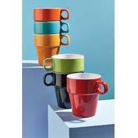 Set of 6 Rainbow Stacking Cups