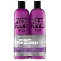 TIGI Bed Head Colour Combat Dumb Blonde Shampoo and Conditioner