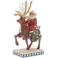 Heartwood Creek Santa Dreams Delivered Ornament