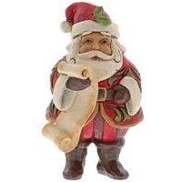 Heartwood Creek Mini Santa with List Ornament