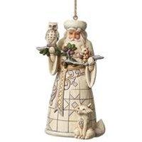 Heartwood Creek Woodland Santa Hanging Ornament