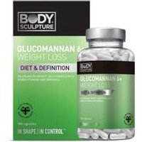 Glucomannan 6 Plus Weight Loss Fuel 180 Capsules