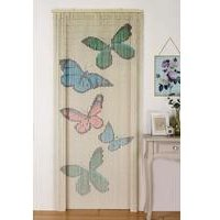 Bamboo Butterfly Door Curtain