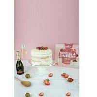 Bakedin Prosecco and Strawberry Cake Kit
