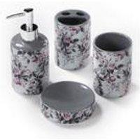 Floral 4-Piece Bathroom Set